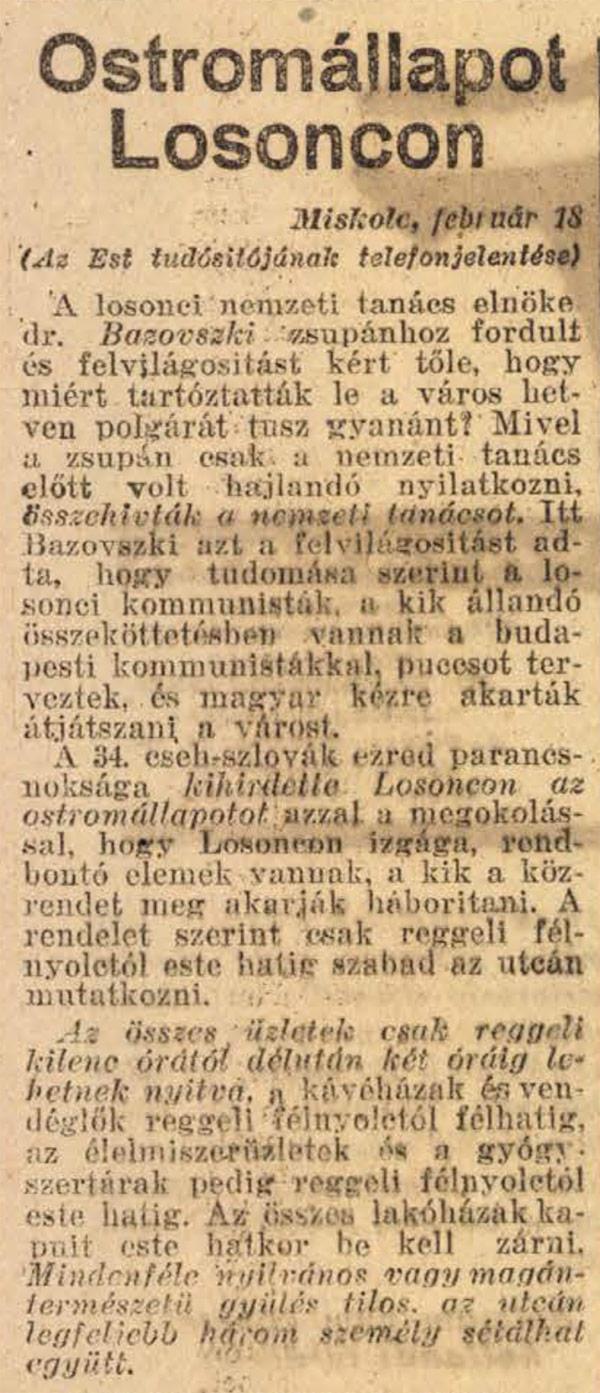 100 éve Nógrádban