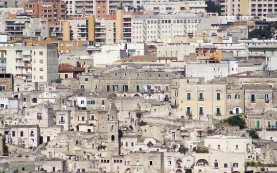 Nógrádon kívül – Basilicata - Sassi di Matera