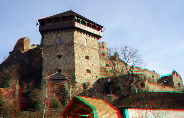 Füleki vár -hrad Fiľakovo