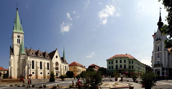 הכיכר Kaposvár