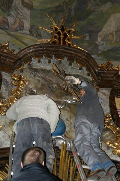 Szentkút oltár