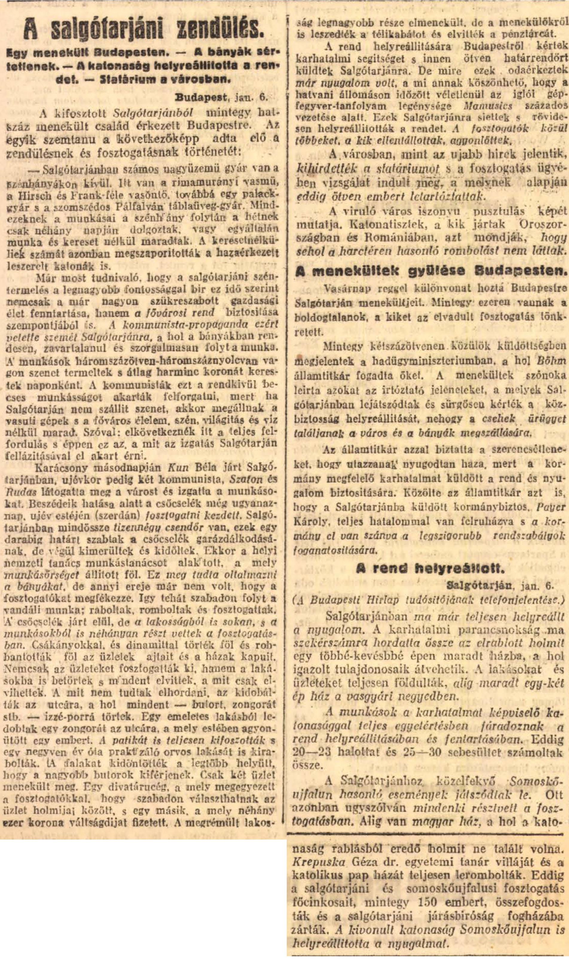 100 éve