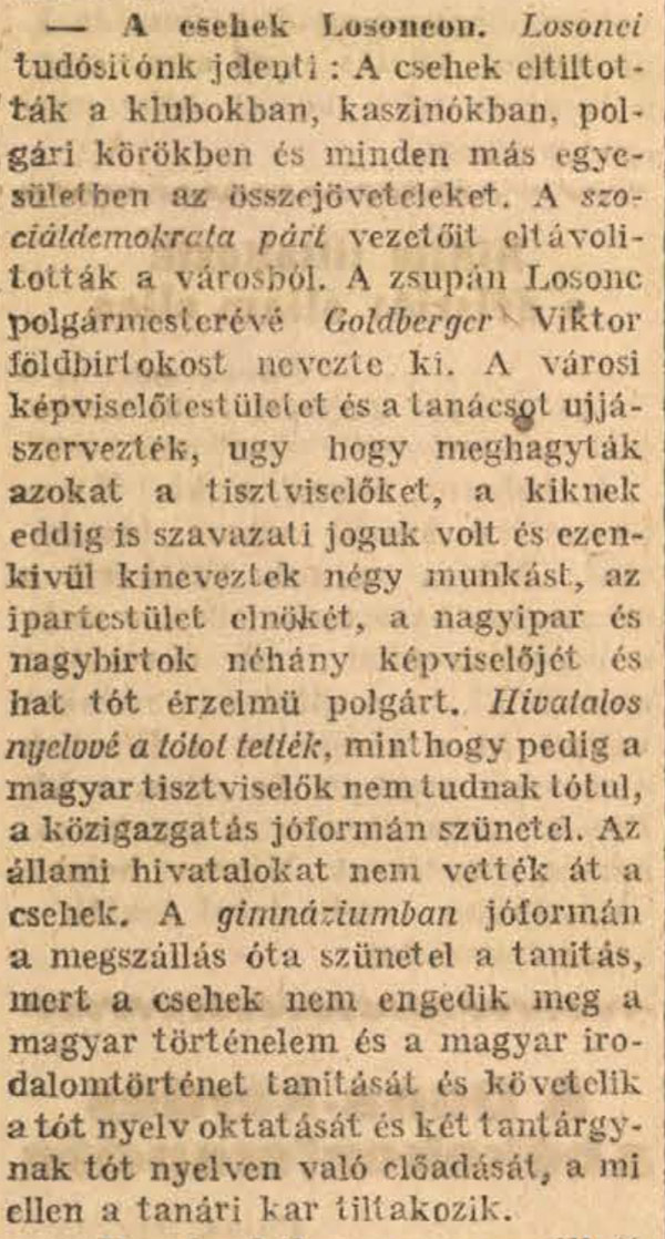 Nógrád vármegyében történt 100 éve